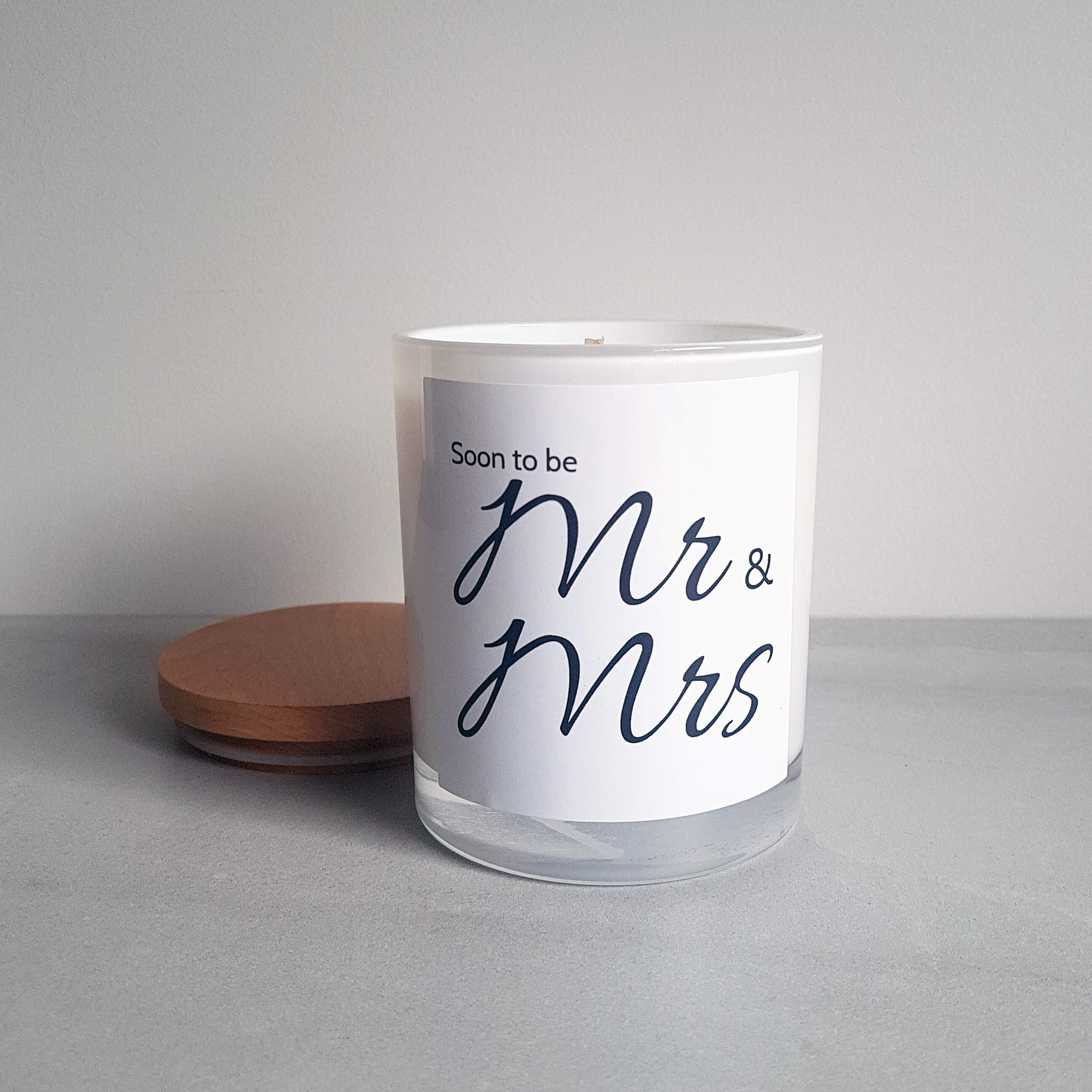 Engagement Candle Gift