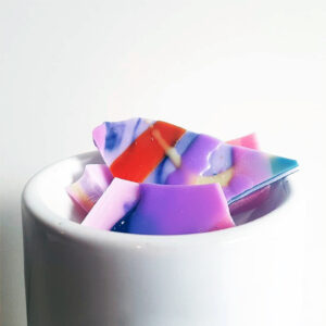 Unicorn Soy Wax Brittle in Wax Melter
