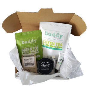 Green Pamper Hamper, Travel Tin