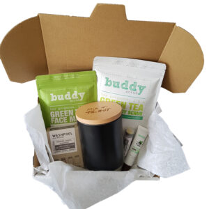Green Pamper Hamper With Tumbler