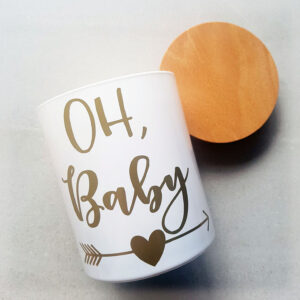 Oh Baby Newborn Candle