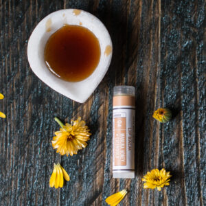 Manuka Honey · Calendula Lip Balm Tube