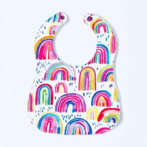 Rainbows Bib