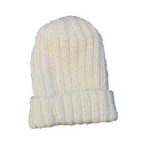 Pale Yellow Pure Wool Baby Beanie