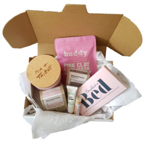 Breakfast In Bed Pink Hamper