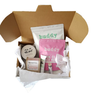 Pink Pamper Hamper- With Travel Tin