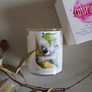 Koala Artbrush Lavender Candle