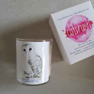 Owl Artbrush 35hr Small Tumbler - Lavender