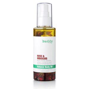 Buddy Scrub - Rose & Hibiscus Body Oil