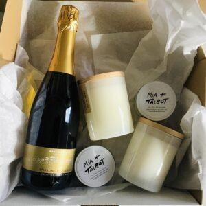Wine & Candles Hamper