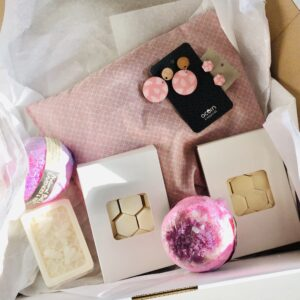 Pink Soy Melts Hamper