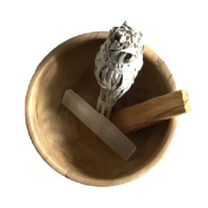 Cleansing Rituals Pack- White Sage, Palo Santo and Raw Selenite