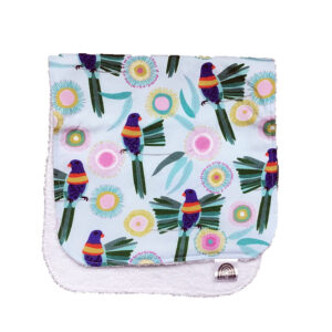 Rosella Burp Cloth